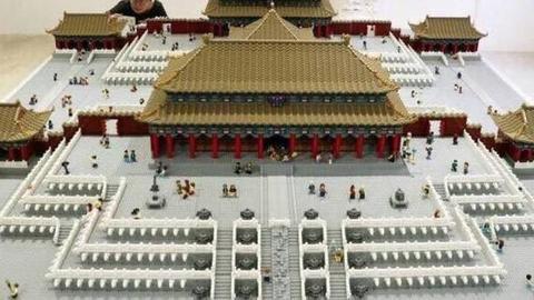 Azulejos Calderon - Más de 500.000 piezas de Lego recrean la Ciudad Prohibida de Pekín - Azulejos Calderón