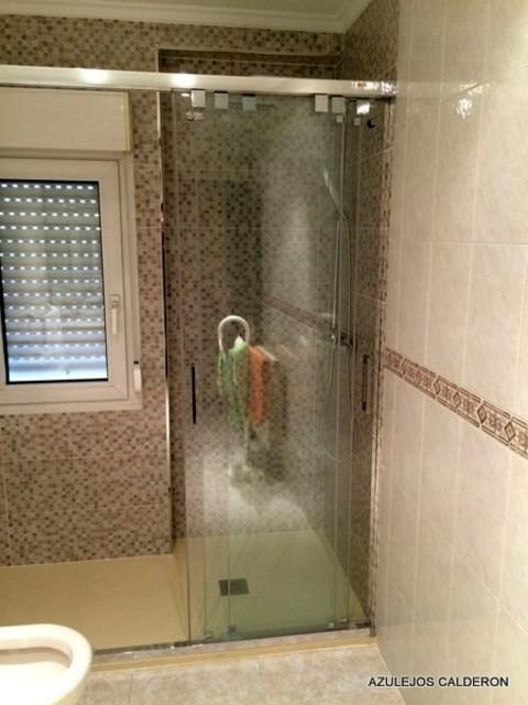 Azulejos ducha stunning ducha con azulejos de vidrio for Precio hacer un cuarto de bano nuevo